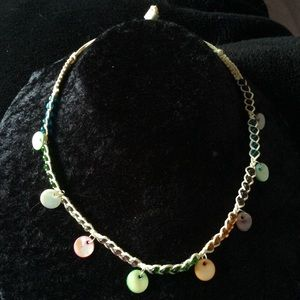 Jewelry - Multi-Color beaded and braided Choker